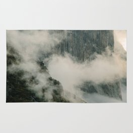 Yosemite fog Rug