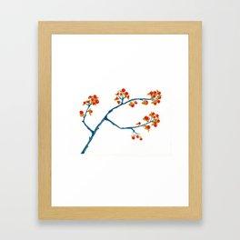 Bittersweet Berries Framed Art Print