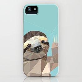 HI SLOTH iPhone Case