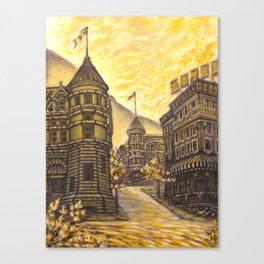 Nelson City Canvas Print