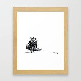 I'll Take My Ducks to Go Framed Art Print