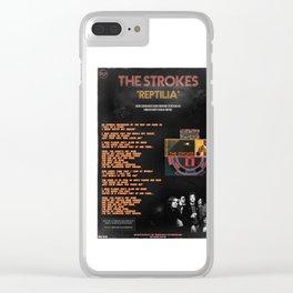 The Strokes: Reptilia Clear iPhone Case