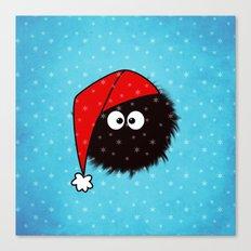 Cute Dazzled Bug Christmas Canvas Print