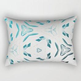Chillin Blue Pattern Rectangular Pillow
