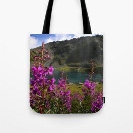 Fireweed - Hatcher Pass Alaska Tote Bag