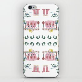 A Garden Plan iPhone Skin