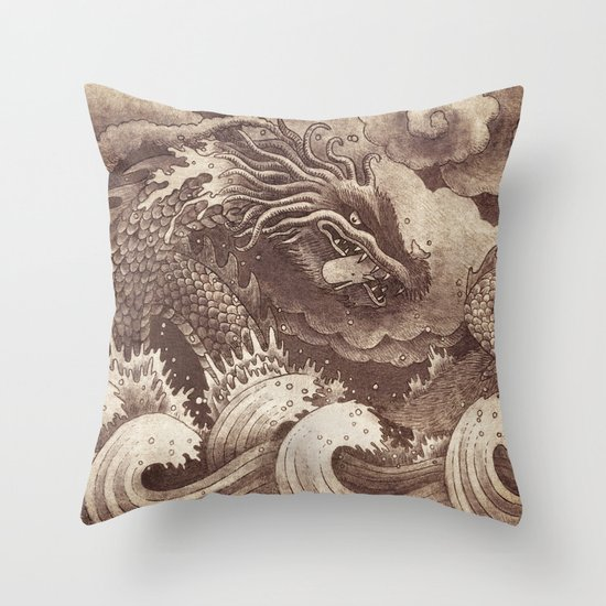 Edge of the World  Throw Pillow