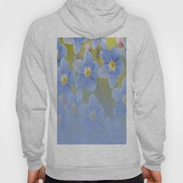 Forget-me-not flowers - summer beauty #society6 #buyart Hoody
