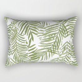 Areca Palm Pattern Rectangular Pillow