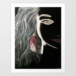 color Splots Art Print