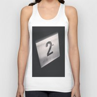 number Tank Tops featuring Number 2 Table Number by Redhedge Photos