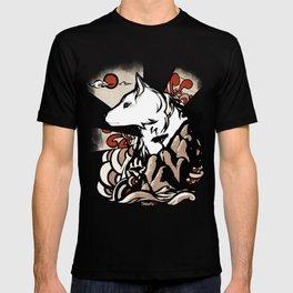 Wolf Ukiyo-e T-shirt