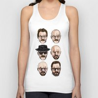 scarface Tank Tops featuring Mr Chips to Scarface by Matthew Brazier Illustration