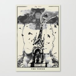 Fig. XVI - The Tower Canvas Print