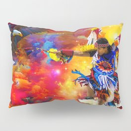 Dance with eagle Pillow Sham
