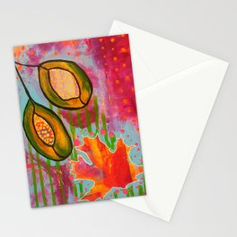 """""""Changing"""" Original Painting by Toni Becker, Artfully Healing Stationery Cards"""