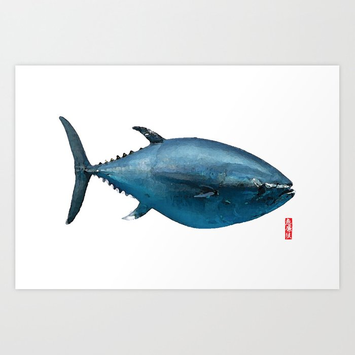 Toro Sushi Tuna Art Print