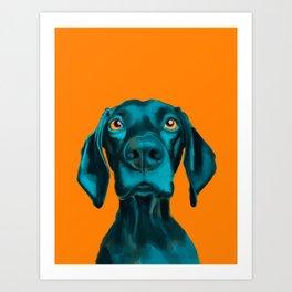 The Dogs: Buddy Art Print