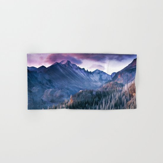 Rocky Mountains Hand & Bath Towel