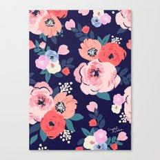 Aurora Floral Canvas Print