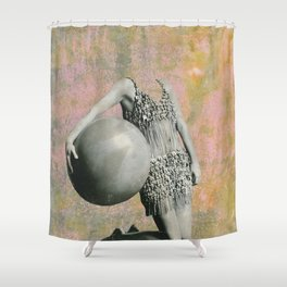Queen of Camouflage12 Shower Curtain