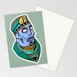 Two Blue Noses Stationery Cards