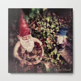 Hanging with my Gnomies Metal Print