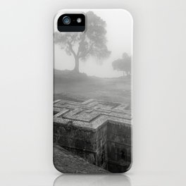Bet Gyorgis Rock Church.  Lalibela, Ethiopia. iPhone Case