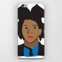 basquiat iPhone & iPod Skins featuring Basquiat by John Sailor