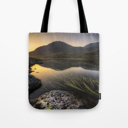 Tryfan Mountians Tote Bag
