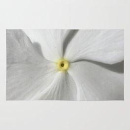 White Petal Rug