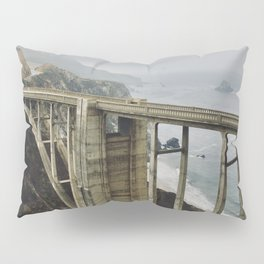 Bixby Bridge, CA Pillow Sham