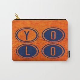 YOLO Dark Blue Carry-All Pouch