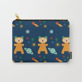space teddy bear Carry-All Pouch