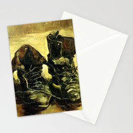 Van Gogh -  Shoes 1885 Stationery Cards