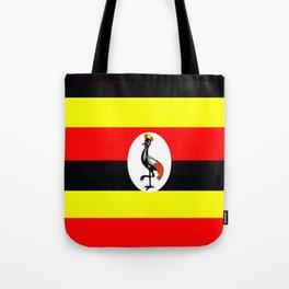 Flag of Uganda Tote Bag