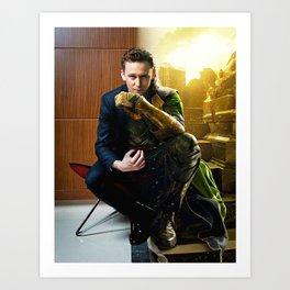 Tom & Loki Art Print
