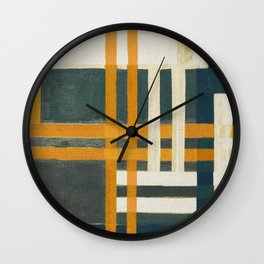 Urban Intersections 7 Wall Clock