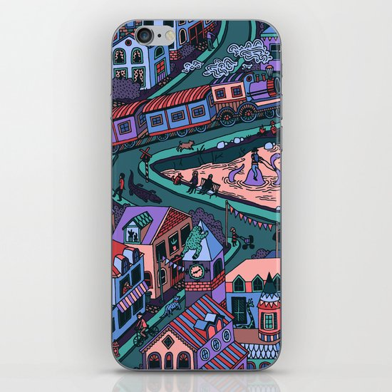 Loch Tess iPhone & iPod Skin