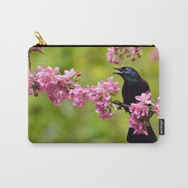 Spring Grackle Carry-All Pouch
