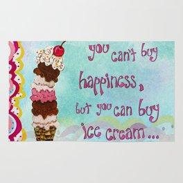 Ice Cream Happiness Rug