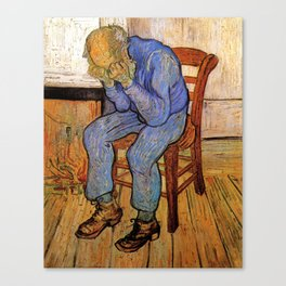 At Eternity's Gate by Vincent van Gogh Canvas Print