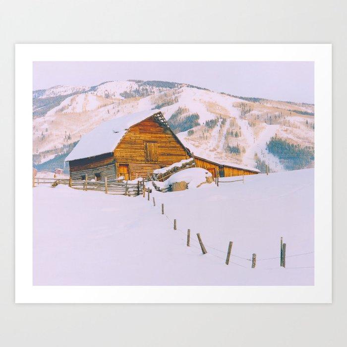 Old Barn - Steamboat - a Colorado Icon Kunstdrucke