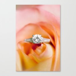 Ring Canvas Print