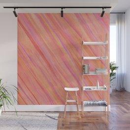 Saturn Pink Wall Mural