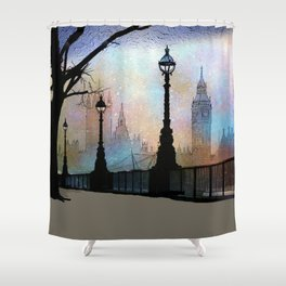 London Embankment Shower Curtain