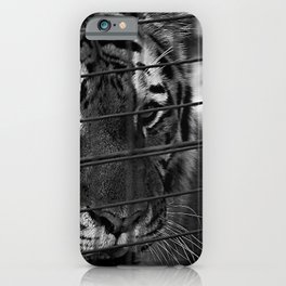 Caged Rage iPhone Case