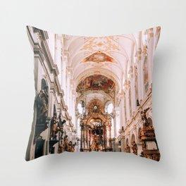 You're a Saint   Munich, Germany Throw Pillow