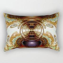 Dashing Circlette Rectangular Pillow
