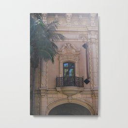 Balboa Park Reflection Metal Print